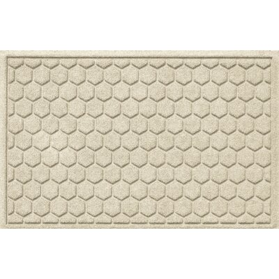 Finnerty Honeycomb Doormat Color: White