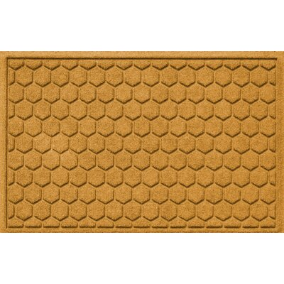 Finnerty Honeycomb Doormat Color: Yellow