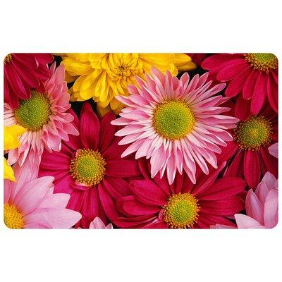 Fo Flor Flowers Doormat Mat Size: Rectangle 111 x 3
