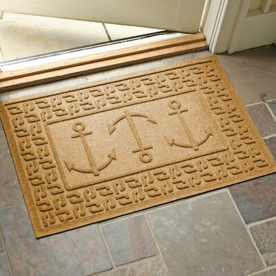 Conway Ahoy! Doormat Color: Gold