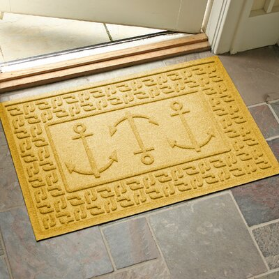 Aqua Shield Ahoy! Doormat Color: Yellow