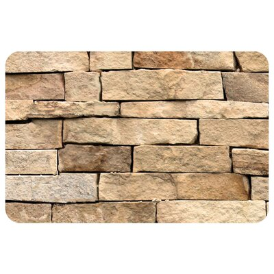 Fo Flor Flat Rock Doormat Mat Size: Rectangle 21 x 5