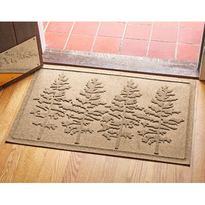 Conway Fir Forest Doormat Color: Camel