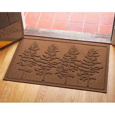 Conway Fir Forest Doormat Color: Dark Brown