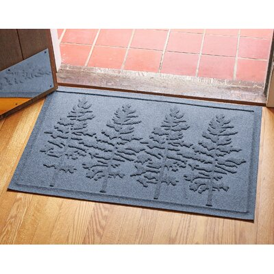 Conway Fir Forest Doormat Color: Bluestone