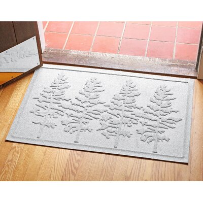 Conway Fir Forest Doormat Color: White