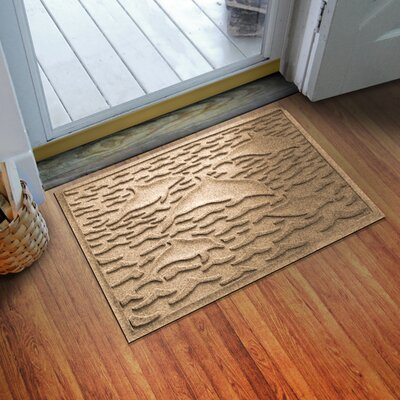 Conway Statement of Porpoise Doormat Color: Camel