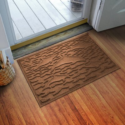 Aqua Shield Statement of Porpoise Doormat Color: Dark Brown