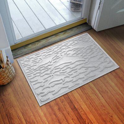 Aqua Shield Statement of Porpoise Doormat Color: White
