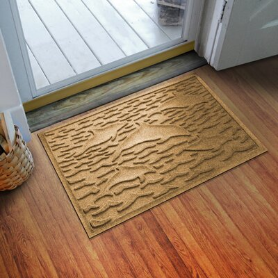 Aqua Shield Statement of Porpoise Doormat Color: Gold