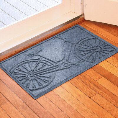 Conway Bicycle Doormat Color: Bluestone
