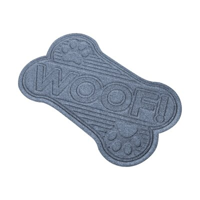 Aqua Shield Woof Doormat Color: Bluestone