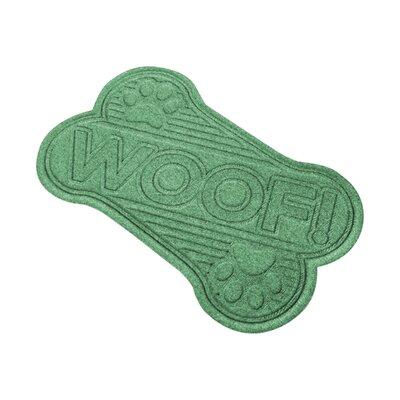 Aqua Shield Woof Doormat Color: Light Green