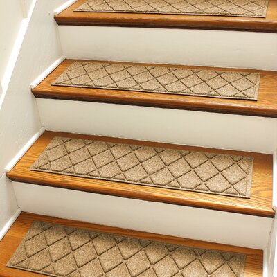 Aqua Shield Gold Argyle Stair Tread