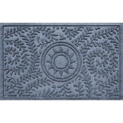 Conway Boxwood Sun Doormat Color: Bluestone