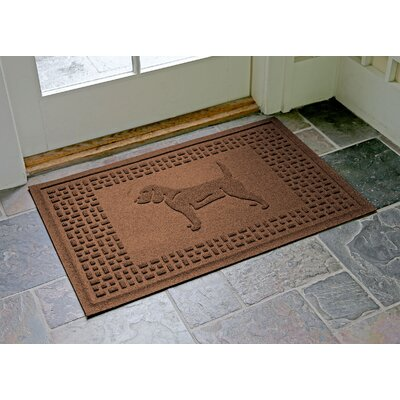 Aqua Shield Beagle Doormat Color: Dark Brown