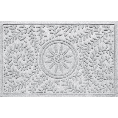 Aqua Shield Boxwood Sun Doormat Color: White