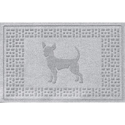 Aqua Shield Chihuahua Doormat Color: White