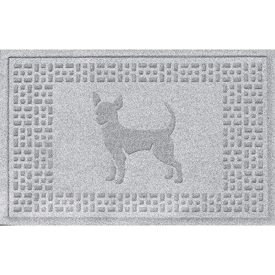 Aqua Shield Chihuahua Doormat Color: White