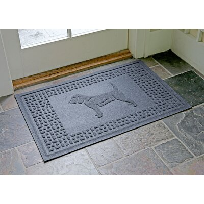 Aqua Shield Beagle Doormat Color: Bluestone