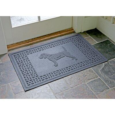 Aqua Shield Beagle Doormat Color: Bluestone