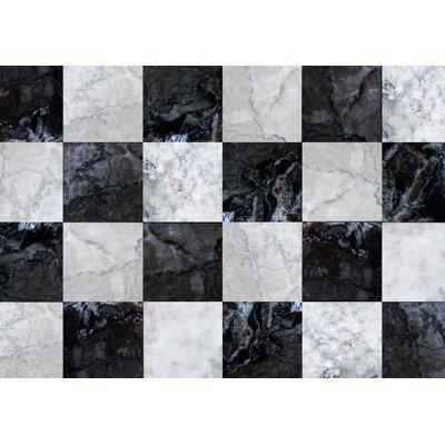Fo Flor Tile Floor Doormat Rug Size: Rectangle 310 x 56