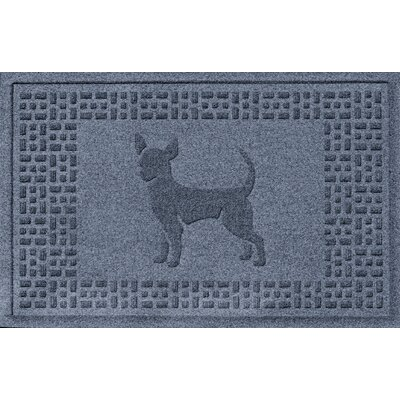 Aqua Shield Chihuahua Doormat Color: Bluestone