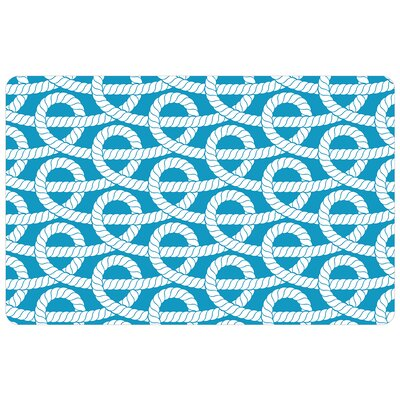 Surfaces Nautical Knots Doormat Mat Size: 16 x 23