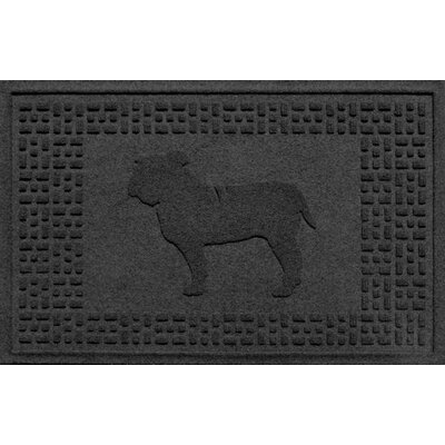 Aqua Shield Bulldog Doormat Color: Charcoal