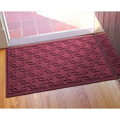 Aqua Shield Interlink Doormat Color: Bordeaux