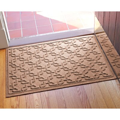 Aqua Shield Interlink Doormat Color: Medium Brown