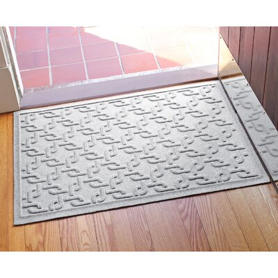 Aqua Shield Interlink Doormat Color: White