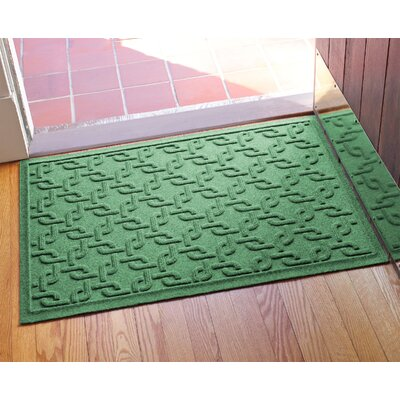 Aqua Shield Interlink Doormat Color: Light Green