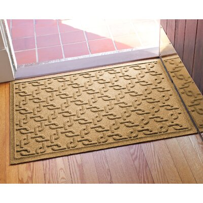 Aqua Shield Interlink Doormat Color: Gold