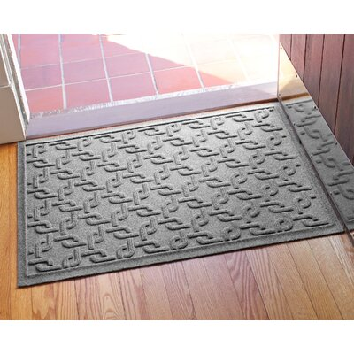 Aqua Shield Interlink Doormat Color: Medium Gray