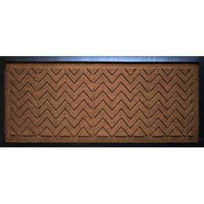 Conway Chevron Boot Tray Color: Dark Brown
