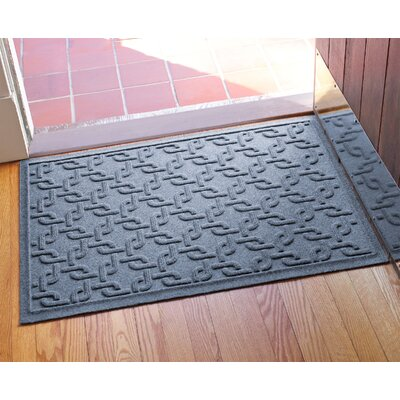 Aqua Shield Interlink Doormat Color: Bluestone
