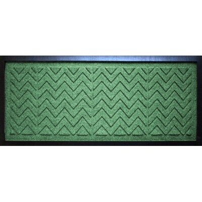 Conway Chevron Boot Tray Color: Light Green