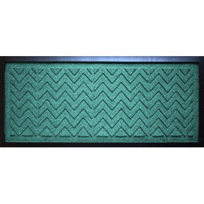 Aqua Shield Chevron Boot Tray Color: Aquamarine