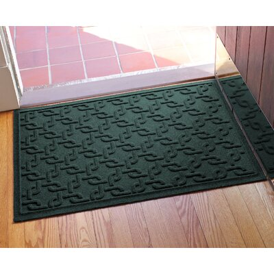 Aqua Shield Interlink Doormat Color: Evergreen