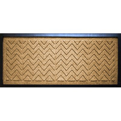 Aqua Shield Chevron Boot Tray Color: Gold