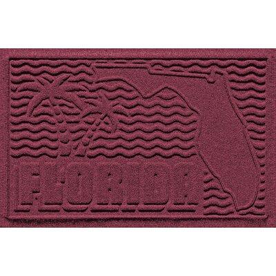 Aqua Shield Florida Doormat Color: Bordeaux