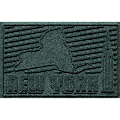 Aqua Shield New York Doormat Color: Evergreen