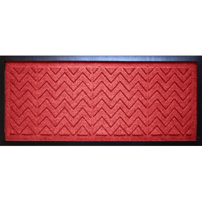 Aqua Shield Chevron Boot Tray Color: Solid Red