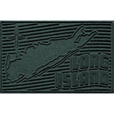 Aqua Shield Long Island Doormat Color: Evergreen