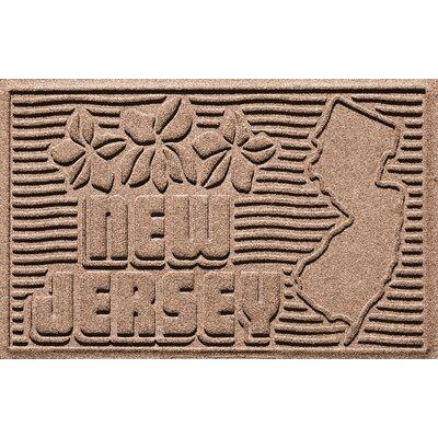 Aqua Shield New Jersey Doormat Color: Medium Brown