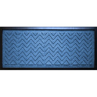 Aqua Shield Chevron Boot Tray Color: Medium Blue