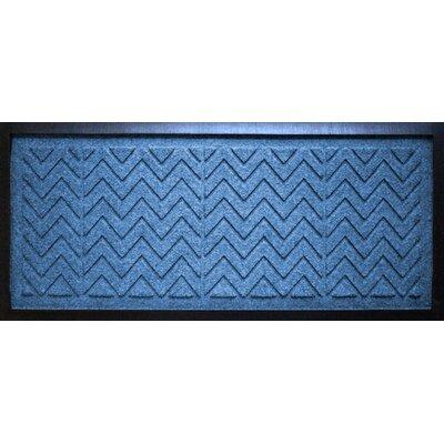 Conway Chevron Boot Tray Color: Medium Blue