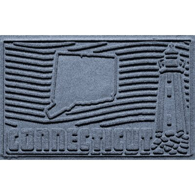 Aqua Shield Connecticut Doormat Color: Bluestone