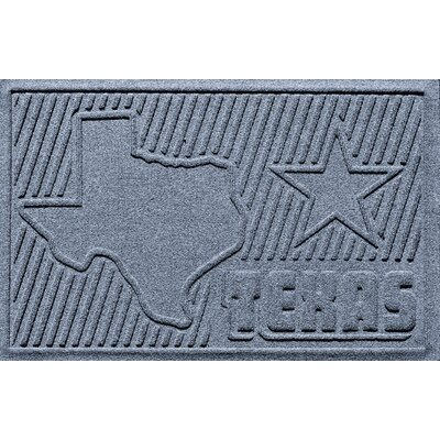 Aqua Shield Texas Doormat Color: Bluestone